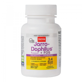 Jarro-Dophilus + FOS, 30/100 capsule - probiotice si prebiotice