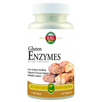 Gluten Enzymes, 30 capsule vegetale