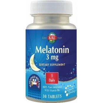 Melatonina 3mg, 30 tablete