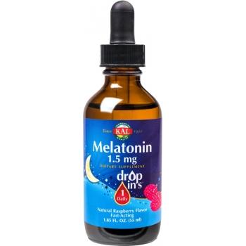 KAL - Melatonina DropIns 1.5mg, 55ml -SECOM