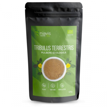 Tribulus (Coltii babei) Pulbere BIO, 125 grame