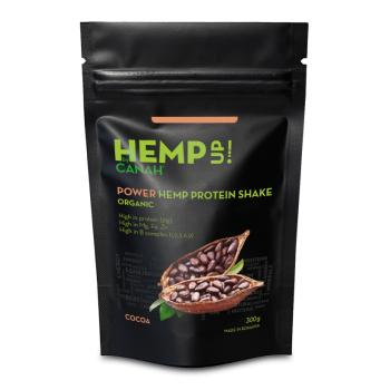 POWER Shake Proteic eco de Canepa si Cacao , 300 gr