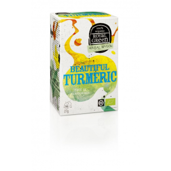Ceai BEAUTIFUL TURMERIC – 100% ecologic, 16 plicuri
