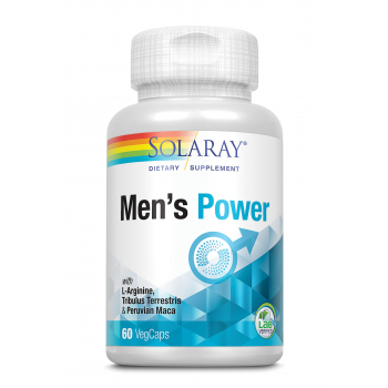 Solaray, Men's power - stimulent sexual masculin,60 capsule vegetale