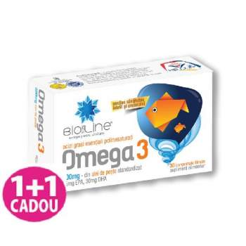 AC Helcor Omega 3 500mg, 30 comprimate