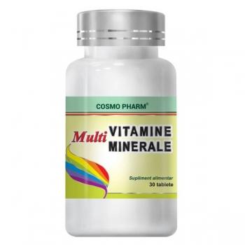 Cosmopharm Multivitamine si Multiminerale, 30 tablete