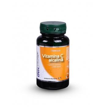 DVR Pharm Vitamina C Alcalina, 60 capsule