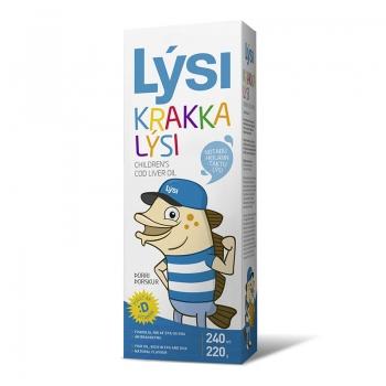 Ulei din ficat de cod pentru copii Lysi