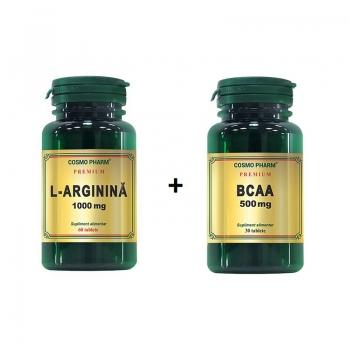 Pachet L-Arginina + BCAA Premium