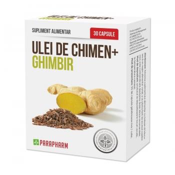 Ulei de Chimen + Ghimbir - 30 capsule - Oferta 1+1 GRATIS