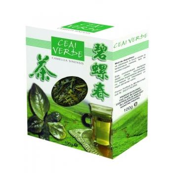 Ceai Verde Frunze 100% Natural, 100 grame