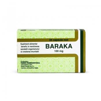 Baraka - Ulei de Negrilica (Chimen negru), 100 mg - 24 capsule