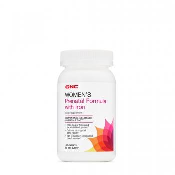 GNC Formula Prenatala cu Fier