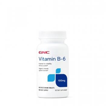 GNC_Vitamina B6_100mg