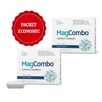 MagCombo - Complex Magneziu 940 mg, 20 capsule