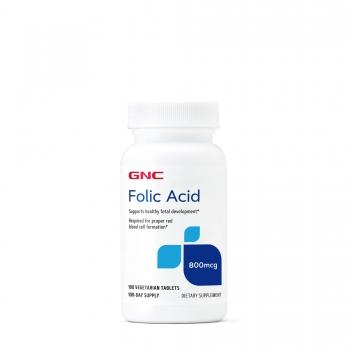 GNC Acid folic 800mcg